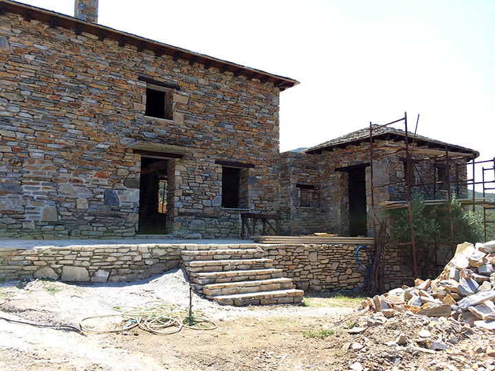 House Reconstruction projects: stone house reconstruction greece—sotirios corp